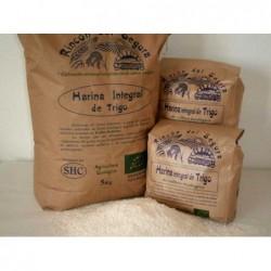 harina integral de trigo ecológico rincon del segura