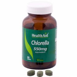 chlorella comprimidos health aid